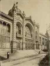 ND, Paris, Exposition Universelle de 1889. Porte Principale du Pavillon de la Ré