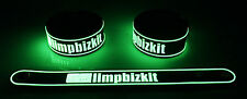 LIMP BIZKIT NEW! Glow in the Dark Rubber Bracelet Wristband Break Stuff  gg44