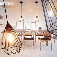 Lámpara colgante retro negro salón pasillo comedor dormitorio porche vestíbulo