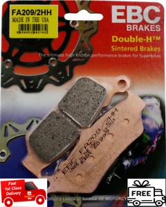 Honda NX 650 Dominator 1997 to 2002 EBC Sintered FRONT Disc Brake Pads FA209/2HH
