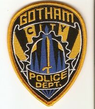 +  Aufnäher/Patch BATMAN GOTHAM CITY POLICE DEPARTMENT