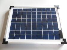 10 Watt W 18V  Solarmodul Solarpanel Fotovoltaik Modul Polykristallin Solarzelle