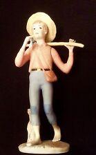 """Ispanky Statue Figurine Huck Finn Huckleberry Finn Boy Adventurer 10"""" Beauty"""