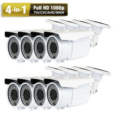 1080P Ahd 960H 2.6MegaPixel 72Ir Led 8 Sony Cmos (*Jd 4-in-1 Security Camera Ac