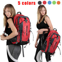 30L Waterproof Hiking Camping Bag Travel Backpack Outdoor Luggage Rucksack Big
