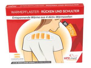 3 x 2 Wärmepflaster - Rücken und Schulter   extra groß   8h Tiefenwärme
