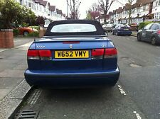 Saab 9-3 900 Convertible 55k Low Mileage L Trim Panel Below Rear Light blue 264