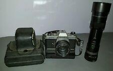 Yashica FR2 SLR 35mm Film Camera w/ 50mm 1:1.9 lens Japan winder case extras