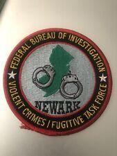 New Jersey  Police -  Newark FBI VCTF  NJ  Police Patch