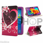 Samsung Galaxy Tab 2 3 4 Leather Design wallet case cover + Screen Protector