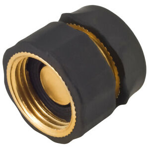 Melnor Brass Female Quick Connector For Garden Hoses water stop 46C