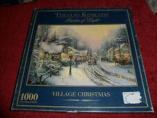 Collection THOMAS KINKADE - Painter of Light-1000 Piece - VILLAGE CHRISTMAS