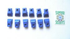 plástico PISTA Kit de reparación/Tapa CONJUNTO EN azul. PARA VESPA .px LML PE