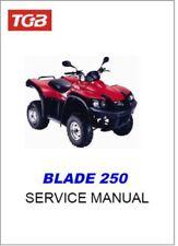 TGB Blade 250 ATV Service Repair Workshop Manual (0124)