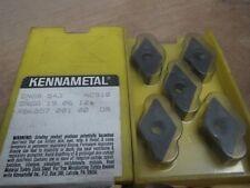 KENNAMETAL INDEXABLE INSERTS KC910 5 PCS DNGA 543  (IK0489)