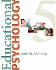 Educational Psychology by John W. Santrock (2013, Paperback)