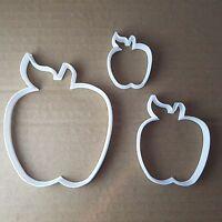 Apple Fruit Plant Shape Cookie Cutter Dough Biscuit Pastry Fondant Sharp Food
