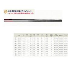 "Nissin Red Dragon Carp Rod Uzakinissin 540 Koucho Made in Japan 17'9"" 6.7 oz"