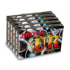 Maxell Cassettes UR 90 90 PACK DE 1 - Europe - Choisissez votre quantité