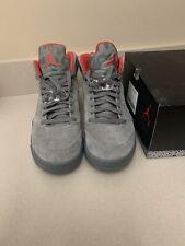 Air Jordan 5 retro 2017 Shoes . Dark stucco/university red . Sz 9.5.