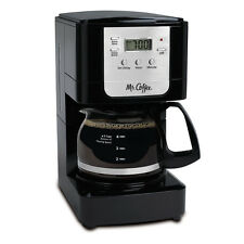 Mr. Coffee Advanced Brew 5-Cup Programmable Coffee Maker Black/Chrome JWX3-RB