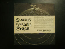 Sounds from Outer Space  45RPM Record