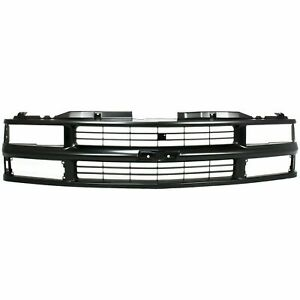 NEW Black Grille For Blazer C1500 K1500 Suburban Tahoe GM1200239 SHIPS TODAY