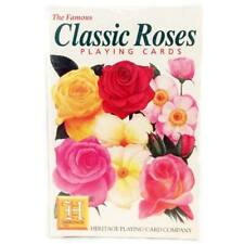 Classic Roses Playing Cards by Heritage Playing Cards