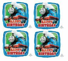 "4x 18"" Thomas The Train & Friend Foil Mylar Balloon Party Decoration!"