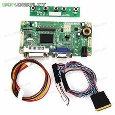LCD Controller Board (VGA DVI) for LP156WH4(TL)(A1) B156XW02 LTN156AT02 1366*768