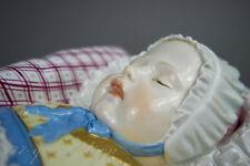 Meissen Figur 42cm Wickelkind Entwurf Johann Joachim Kändler Hentschelkind Baby