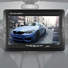 7 inch Color TFT LCD Monitor For Car Rear View Reverse Backup Camera DVD VCR