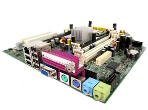 HP Compaq DC7700 404674-001 Motherboard With Intel Core 2 Duo 6600 2.40 GHz Cpu