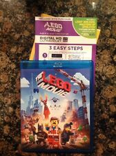 The LEGO Movie (Blu-ray/DVD,2014,2-Disc,Digital) Authentic US Release scratch fr