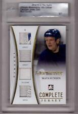 MATS SUNDIN 14/15 ITG Ultimate Complete GOLD Jersey Emblem Tie-Down Patch #5/7