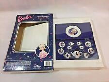 VINTAG poupée Barbie Enchanted Evening miniature China Tea Set Entièrement neuf dans sa boîte