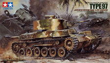 Tamiya 35137 1/35 Scale Model Kit WWII Japanese Medium Tank Type 97 Late Version