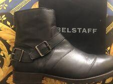 New Aut Belstaff Trialmaster Short Boot Man Black 13/46