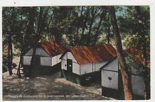 Mt.Lowe,Ca.Cottages at Ye Alpine Tavern,San Gabriel Mountains.L.A.Co.c.1909