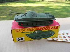 VEHICULE MILITAIRE HO ESPEWEMODELLE METAL CHAR RUSSE PT 76 MINT IN BOX