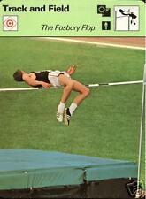 DICK FOSBURY 1978 FOCUS ON SPORTS CARD