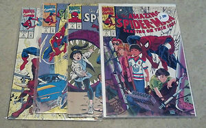 AMAZING SPIDERMAN PREVENTION FULL SET 1-4(9.4-9.8)(NM TO NM/MT)4 ISSUES-MARVEL