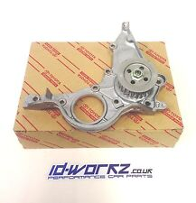 TOYOTA STARLET 1.3 GT TURBO GLANZA V OIL PUMP SEAL ON BLOCK OE GENUINE TOYOTA