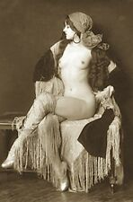 PROUD GYPSY NUDE DECO ZIEGFELD FOLLIES DANCER WOMAN BURLESQUE GIRL BREASTS PHOTO