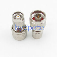 N male plug to RP-TNC male plug Straight RF Connector Adapter