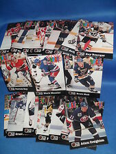 1991-92 PRO SET HOCKEY - PUCK CANDY PARTIAL SET (22) NHL CARDS ! PATRICK ROY !