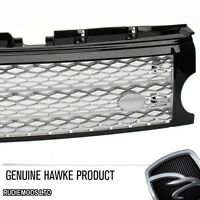 Hawke Land Rover Discovery3 05-09 Supercharged Look Front Grill Black Silver