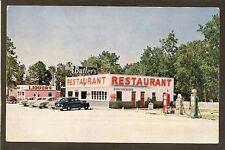 POSTCARD:  BUTLER'S RESTAURANT, GAS STATION, LIQUOR STORE - 2 FLORIDA LOCATIONS
