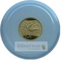 10 Euro Luxemburg 2009 1/10 Unze 999er Gold Hirsch des Refugiums nur 3000