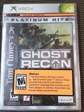 Tom Clancy's Ghost Recon (Microsoft Xbox, 2002) NEW Sealed